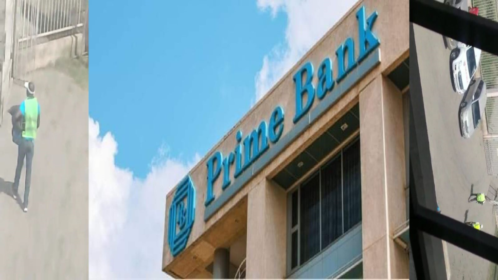 Robbers steal 3.5M at Prime Bank in broad daylight.