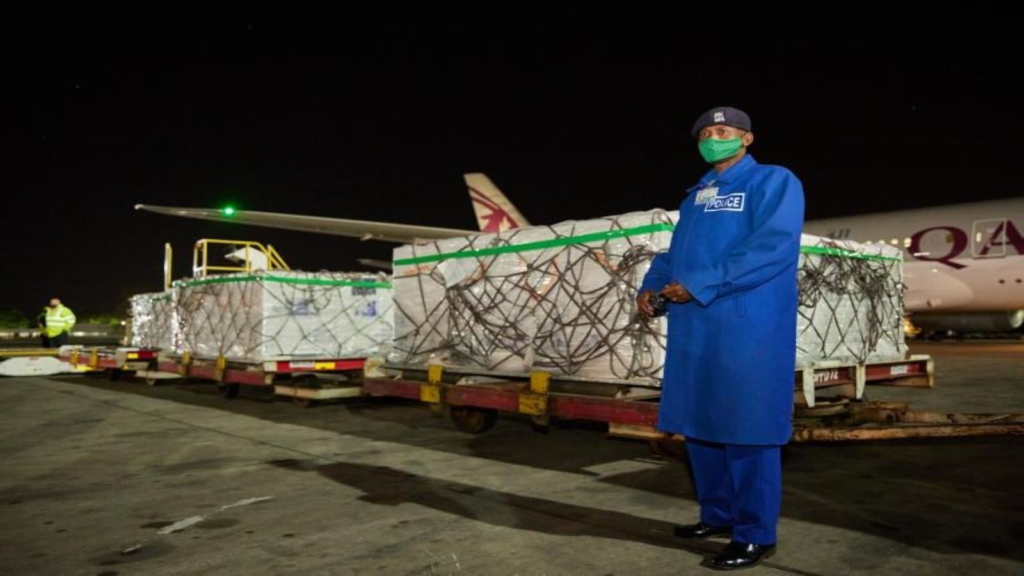 First batch of Covid-19 vaccines arrive at JKIA
