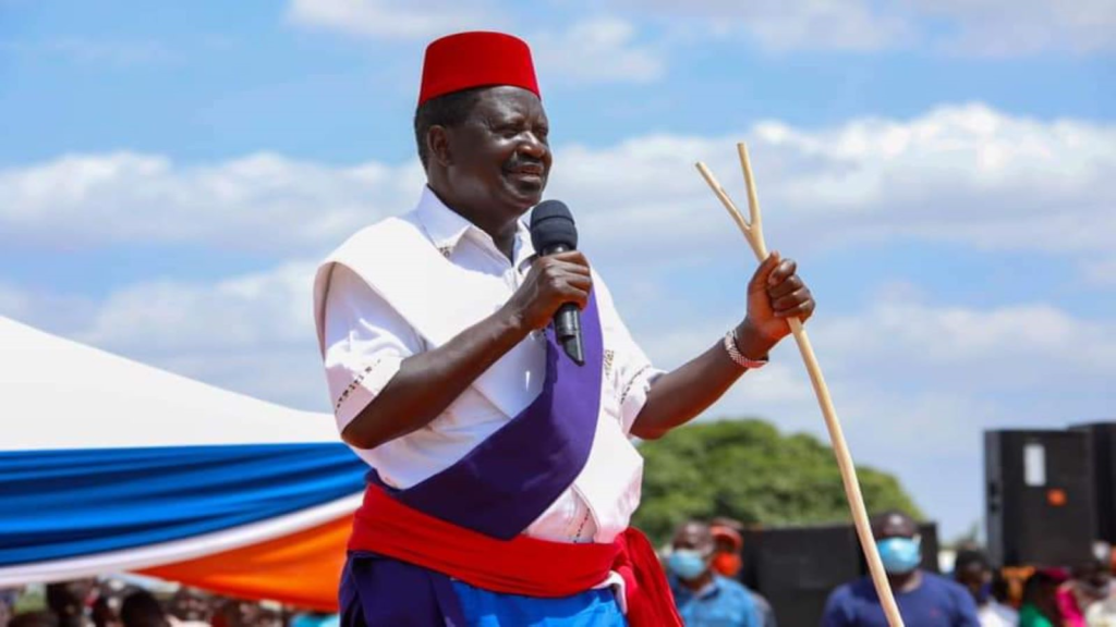 Raila is in good shape, to be discharged in 2 days