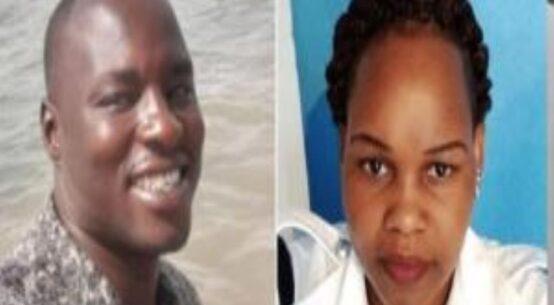 The late Constable Ogweno and the late Caroline Kangogo.